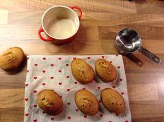 Gingerbread friands