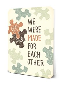 Deluxe Card Set- We Were Made for Each Other