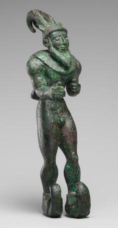 Striding horned demon [Mesopotamia or Iran] (2007.280)   Heilbrunn Timeline of Art History   The Metropolitan Museum of Art
