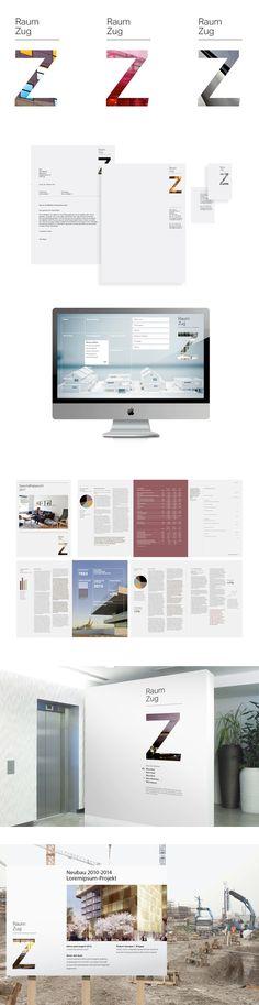 Brand identity design / Raum Zug real estate