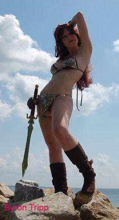 God Bree Daniels cosplay warrior nude pictures gallery