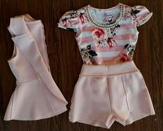 Ropa para niñas Kids Outfits Girls, Little Girl Dresses, Girl Outfits, Girls Dresses, Cute Outfits, Fashion Outfits, Cute Baby Clothes, Clothes For Women, Little Girl Closet