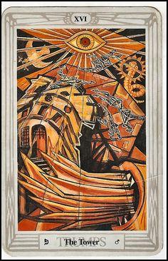 Crowley Thoth Deck tarot card