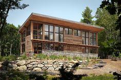 Home on Pemaquid Pond by Briburn