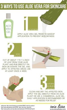 How to Use #AloeVera For Acne Treatment: #skincare