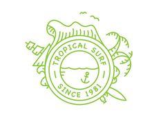 Tropical Surf Logo