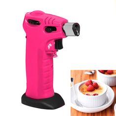 Maçarico culinário Kitchen Craft rosa