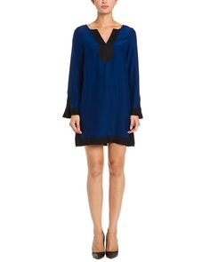 Spotted this Alice & Trixie Dwyer Navy & Black Tipped Silk Dress on Rue La La. Shop (quickly!).