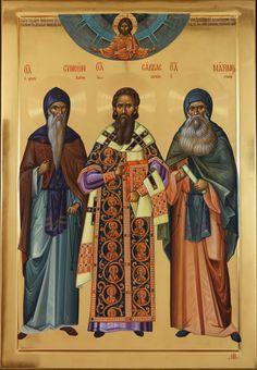 icon 2014 _0066_resize Byzantine Icons, Byzantine Art, Orthodox Icons, Saints, Religion, Movie Posters, Painting, Fresco, Atelier
