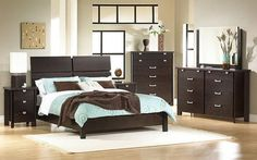 bedroom ideas for brown furniture - Google Search
