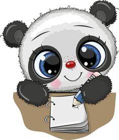 Baby Clip Art, Cute Panda, Anime, Crafty, Stickers, Prints, Google, Ideas, Kid Drawings