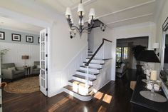 Nantucket Style Homes | Nantucket Style Home - Interior | Ideas of parent's dream house at la ...