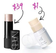 Splurge vs Steal: ELF Makeup Dupes You Cant Resist -- and they dont even cover my fav products. Love this line!