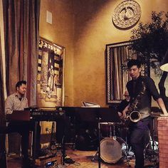 3/4ths of tonight's lineup... @wallyschnalle  @brianhojazz and Tim lin...outstanding. #DTSJ #Jazz