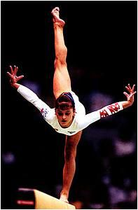 Dominique Moceanu. My all-time favorite gymnast.