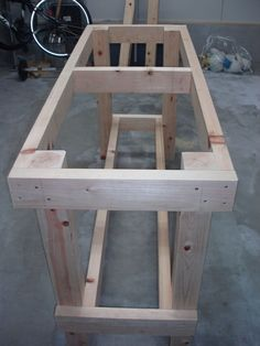 Work Bench on the Cheap Bench woodworking bench woodworking bench bench diy bench garage workbench bench plans crafts christmas crafts diy crafts hobbies crafts ideas crafts to sell crafts wooden signs