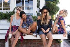 Halley, Kelia, Monyca and Bruna = Squad goals