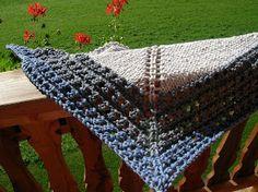 Sogni di lana: Pattern scialle facile