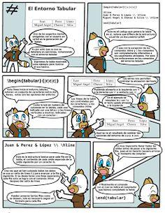 LaTeX, el entorno Tabular: Ilustrado