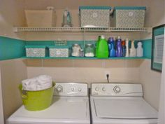 {drool}  A laundry room would be better, but I could totally use this for inspiration to make my laundry closet pretty :)