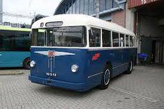 De eerste echte stadsbus in Arnhem na WO II. De motor zat achterin.