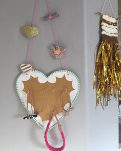 Hooray!!!! The heart accessory holder is back in stock  custom color combos are available. Enjoy!