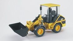 The CAT Wheel Loader from the Bruder Construction collection - Discounts on all Bruder Toys at Wonderland Models.    One of our favourite models in the Bruder Construction range is the Bruder CAT Wheel Loader.    Bruder manufacture wonderful, amazingly detailed models of all sorts of vehicles, particularly construction vehicles including this model of the CAT Wheel Loader which can be complemented by any of the items in the Bruder Vehicles range.