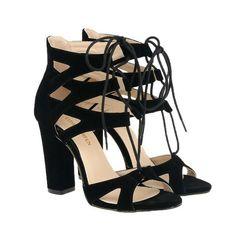 004a773f9ba6 Lace Up High Heel Sandals 11 Colors. Lased Shoe Boutique