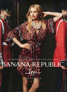 Sean Spellman styled Jessica Hart for Issa for Banana Republic Fall / Winter 2013 campaign photographed by Norman Jean Roy. - Check out the video at: http://timhowardmanagement.com/blog/artist/SEAN%20SPELLMAN/page:1#sthash.vYcMMSg9.dpuf