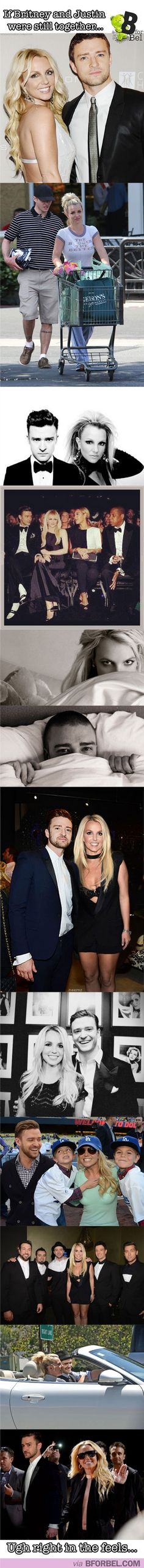 If Britney and Justin were still together…