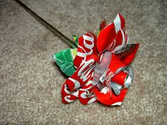 Soda can Rose picture tutorial! They look so amazing.