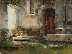Side Entrance by Tibor Nagy Oil ~ 12 x 16