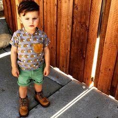Meninos Estilosos Moda Infantil Masculina #boys Fashionistas do Instagram -  @ministylehacker #postmyfashionkid #fashionkids
