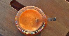 Sunbeam Smoothie – Orange, tangerine, lemon, carrot, flax seed and goji berry Carrots, Peanut Butter, Vitamins, Berries, Lemon, Orange, Health, Ethnic Recipes, Desserts