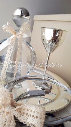 Σετ γάμου επαργυρο κομψό με φινέτσα και στυλ by valentina-christina καλέστε 2105157506 #greek#greekdesigners#handmadeingreece#greekproducts#γαμος #wedding #stefana#χειροποιητα_στεφανα_γαμου#weddingcrowns#handmade #weddingaccessories #madeingreece#handmadeingreece#greekdesigners#stefana#setgamou#στεφαναγαμου Wedding Glasses, Dresses, Vestidos, The Dress, Dress, Gowns, Clothes, Dress Outfits