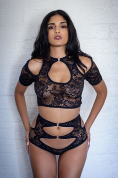 a602cac5695e1 Dana Lace Top and Dana Lace Panty - Anya Lust Luxury Lingerie Store Petite  Lingerie