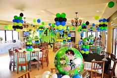 More balloons of benten party