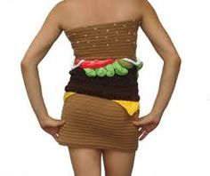 Just what every girl wants - A Cheeseburger dress