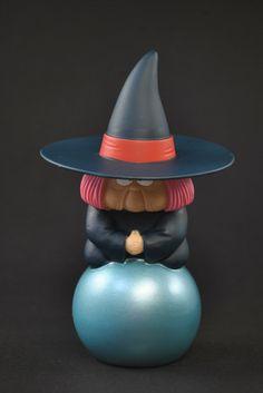 Dragon ball Soft Vinyl Figure Fortuneteller Baba Uranai SCultures HQ DX