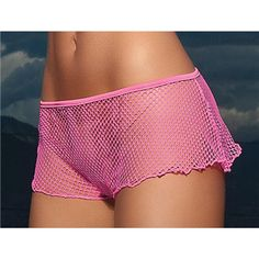 Ruffle Fishnet Shorts $14.95 but You can get this or almost any other single item for 50% OFF + Free Shipping + DVDS and Mystery GIFT when you use the code PINIT @ checkout at www.AdamAndEve.com.
