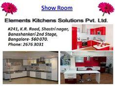 Kitchen Cabinets Design in Bangalore