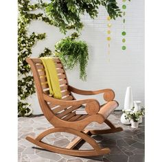 Safavieh Outdoor Living Sonora Brown Rocking Chair | Overstock.com Shopping - The Best Deals on Sofas, Chairs & Sectionals
