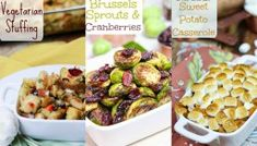 30 Delicious & Mainly Healthy Vegetarian Dishes for Thanksgiving