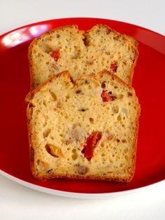 Recette Cake au thon et poivrons, notre recette Cake au thon et poivrons - aufeminin.com