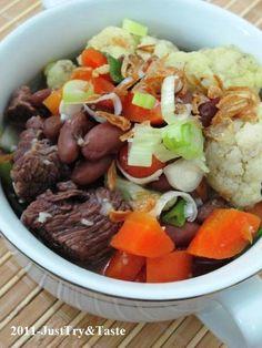 Just Try & Taste: Sup Senerek: Sup Kacang Merah dengan Daging Sapi &...