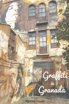 Graffiti in Granada: The Backstreet Art Gallery of Spain - Migrating Miss