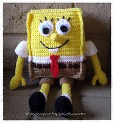 Sponge - Bob free pattern on Ravelry