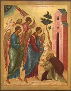 Apparition of the Holly Trinity to St Alexander of Svirsk