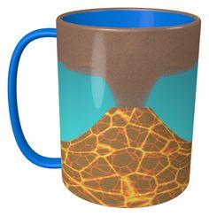 Volcano Mug / #Tableware