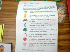Curriculum Night/First Day Idea - Using this for sure this year!